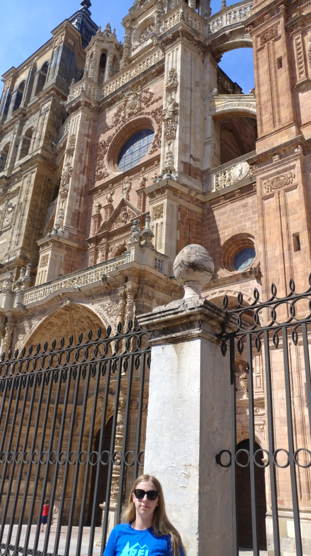Cathedral in Astorga, Spain