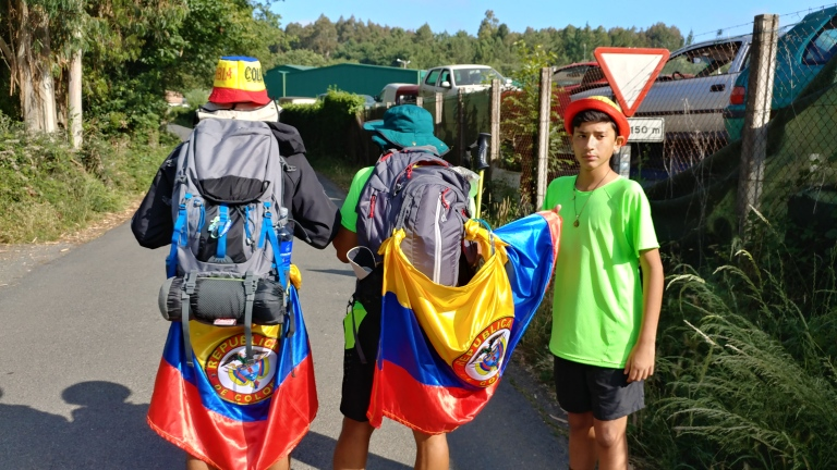 Pilgrims from Columbia, SA